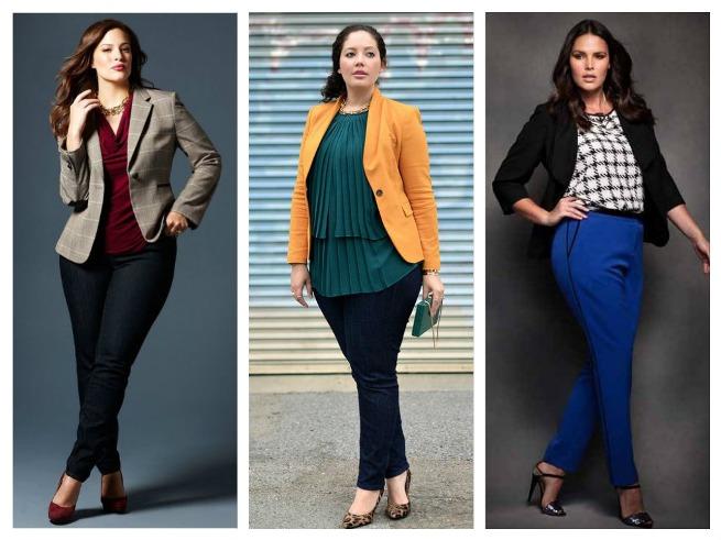 Как правильно одеваться девушкам с пышными формами