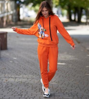 Одежда спортивный костюм оранжевый Дана