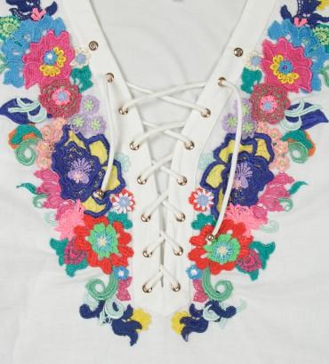 Одежда летнее платье лён Дольче Вита 2