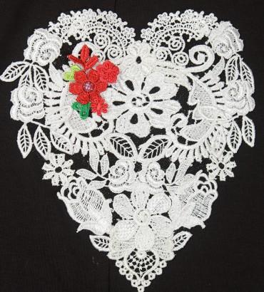 Одежда платье лето Сердца двух 2