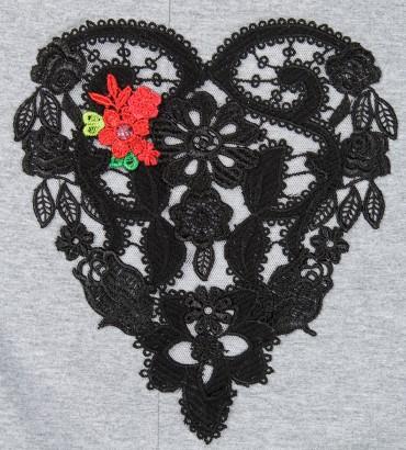 Одежда платье миди серое Сердца двух 2