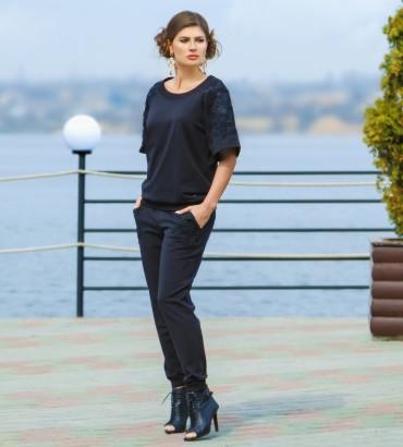 Одежда женский костюм черный Дейзи