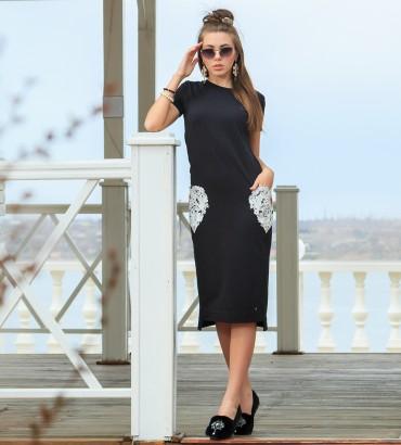 Одежда платье лето Сердца двух