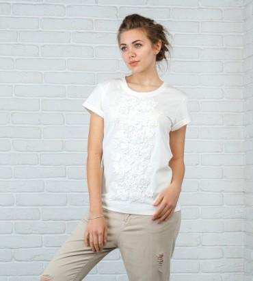 Одежда белая футболка Кира