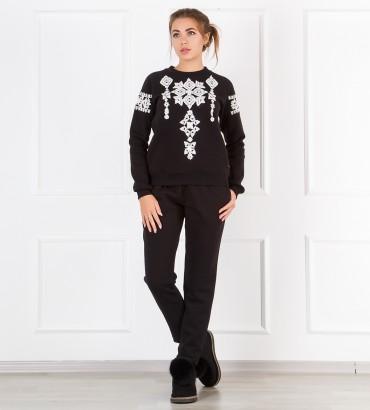 Одежда черный спортивный костюм Соломия