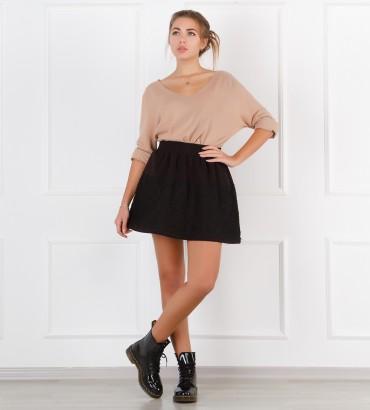 Одежда кружевная юбка черная Натали