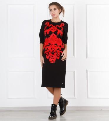 Одежда черное платье Мулен Руж
