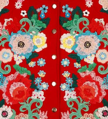 Одежда красный спортивный костюм Версаль 2