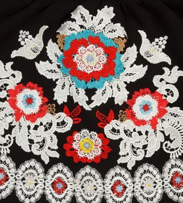 Одежда черная юбка теплая Миллениум 2