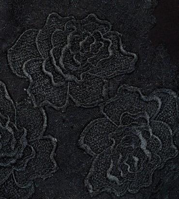 Одежда черный спортивный костюм теплый Катрин black 2