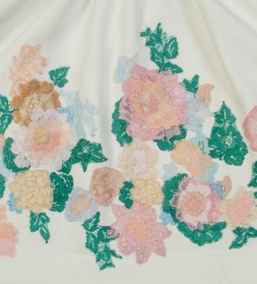 Одежда белая юбка с кружевом Мэри 2