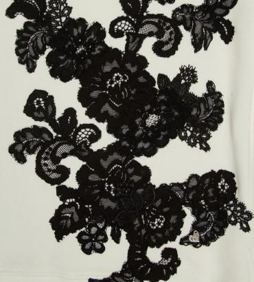 Одежда белый свитшот Камилла black 2