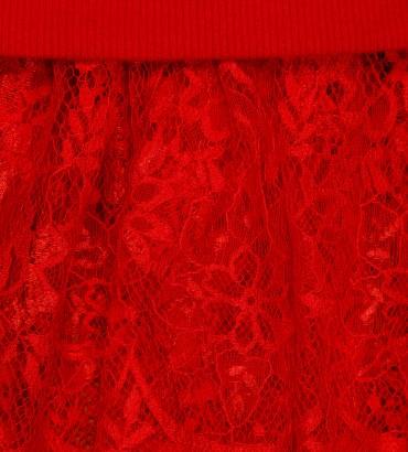 Одежда худи длинный красный Стелла 2
