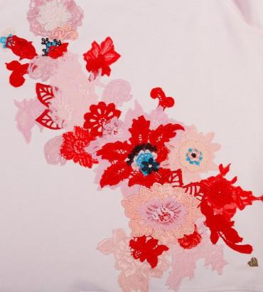 Одежда свитшот розовый Сады Семирамиды 2