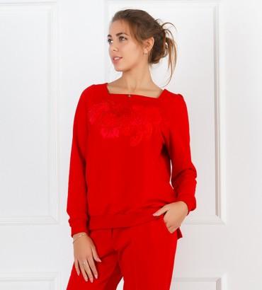 Одежда свитшот красный Дакота