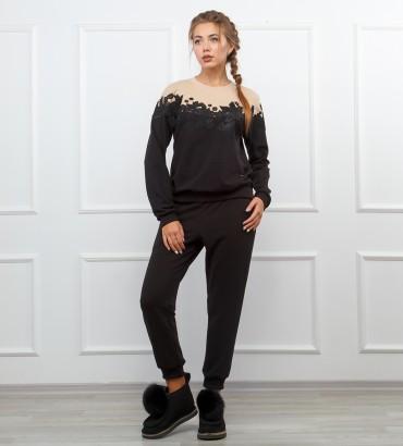 Одежда спортивный костюм женский Амбер