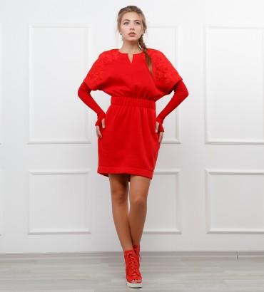 Одежда платье красное Марлен red