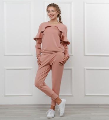 Одежда женский костюм розовый Дива