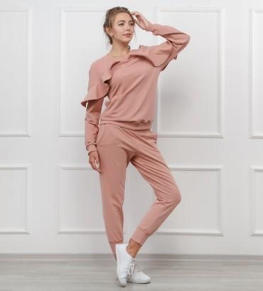 Одежда женский костюм розовый Дива 2
