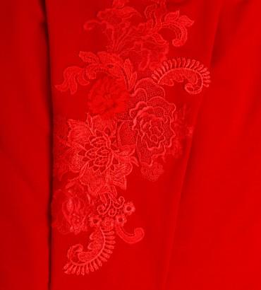 Одежда спортивный костюм красный Мишель 2