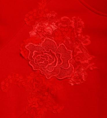 Одежда женский свитшот красный Катрин 2