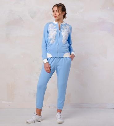 Одежда голубой спортивный костюм Афины
