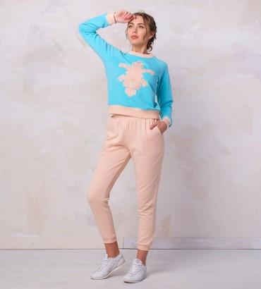 Одежда голубой спортивный костюм Лола