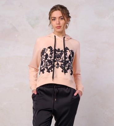 Одежда худи розовый Алегрия