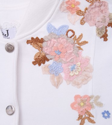 Одежда белый спортивный костюм Оливия 2