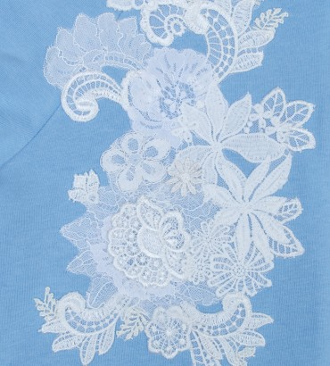 Одежда голубой спортивный костюм Афины 2