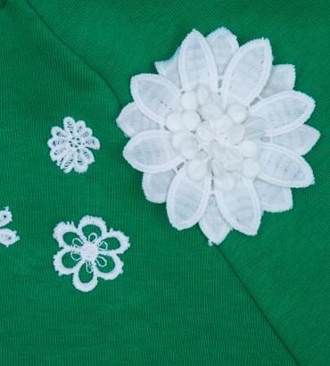 Одежда зелёный бомбер женский Мелисса 2