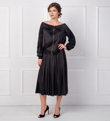 Одежда костюм женский черный Кристиана
