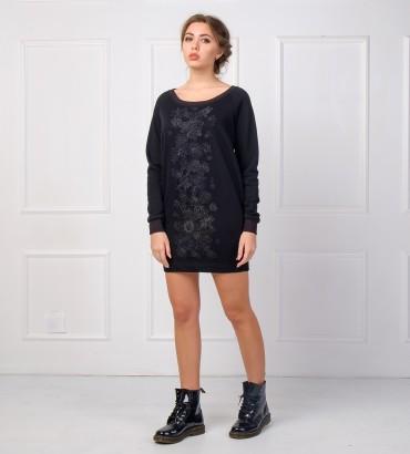 Одежда черное платье Кира