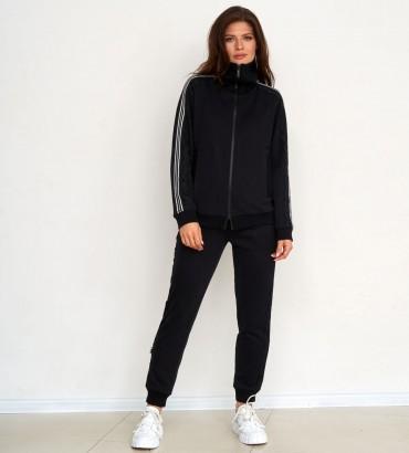 Одежда спортивный костюм черный Аден style