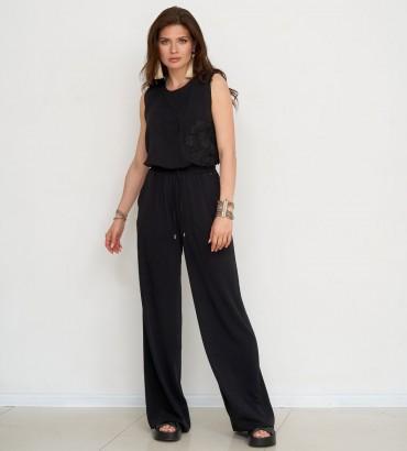 Одежда комбинезон черного цвета Ленория