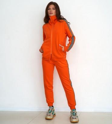 Одежда спортивный костюм оранжевого цвета Aden style