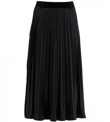 юбка черная  солье