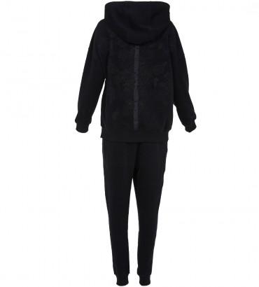 Спортивный костюм Аурелия черного цвета