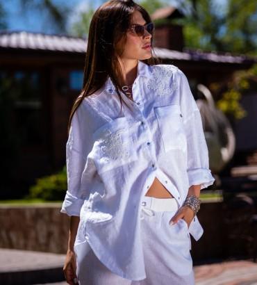 Блуза Молочная Итака