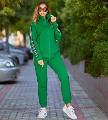 Одежда спортивный костюм зеленый Аден style