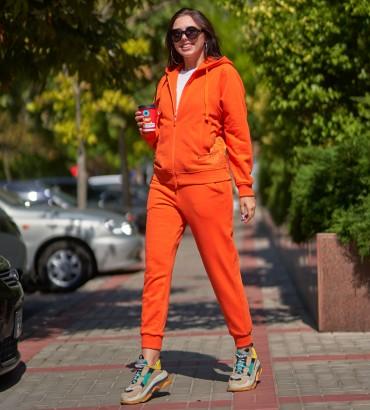 Одежда спортивный костюм оранжевый Ленория long