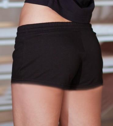 Одежда женские шорты черные 2